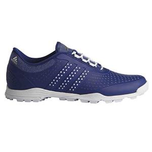 adidas Women's Adipure Sport Golf Shoe, Mystery Ink/White, 6 M US