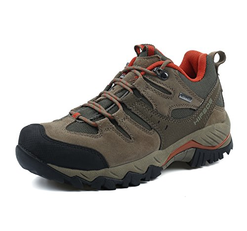 HIFEOS Hiking Boots Leather Trekking Shoes Outdoor Waterproof