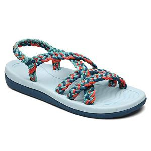 MEGNYA Women's Comfortable Flat Walking Sandals