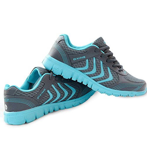 DUOYANGJIASHA Women's Athletic Mesh Breathable Casual Sneakers Lace