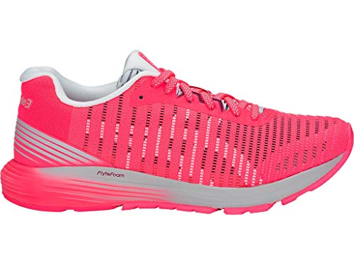ASICS Women's Dynaflyte 3 Running Shoes, 7M, Diva Pink/White
