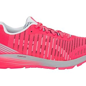 ASICS Women's Dynaflyte 3 Running Shoes, 7M, Diva Pink/White