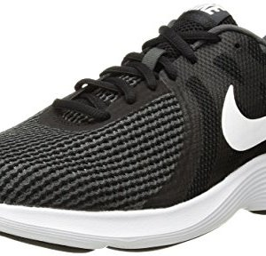 Nike Women's Revolution 4 Running Shoe, Black/White-Anthracite
