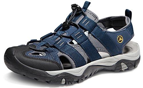 ATIKA Men's Sports Sandals Trail Outdoor Water Shoes 3Layer Toecap Series