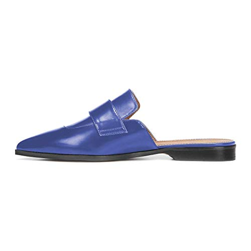 XYD Womens Retro Backless Slip On Loafer Flats Pointed TOE STYLE: Pointed/Pointy/Closed Toe.