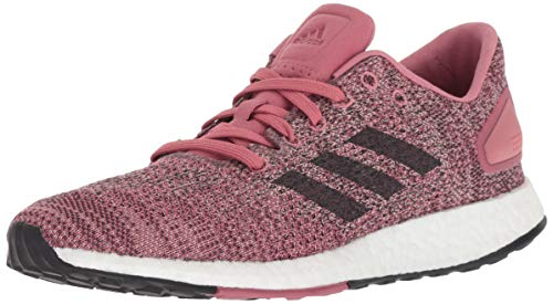 adidas Women's Pureboost DPR Running Shoes, Trace Maroon/Carbon/ash Pearl, 9.5 M US