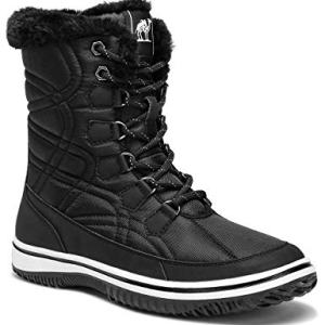 CAMEL Women's Winter Boots Thermal Snow Outdoor Mid Calf Boot