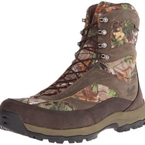 "Danner Men's High Ground 8"" Realtree Xtra Hunting Boot,Brown/Green"