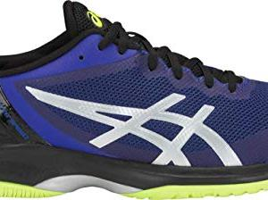 ASICS Gel-Court Speed Men's Tennis Shoe, Illusion Blue/Silver