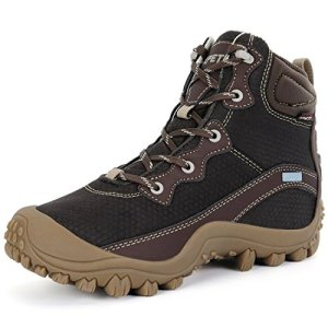 XPETI Women's Dimo Mid Waterproof Hiking Outdoor Boot Coffee
