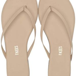 TKEES Women's Foundation Flip Flop,Seashell