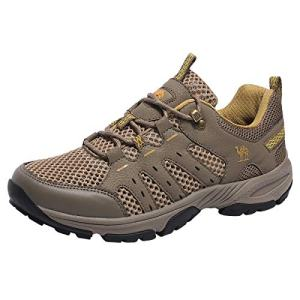 CAMEL CROWN Hiking Shoes Men Lightweight Breathable Mesh Walking Sneakers