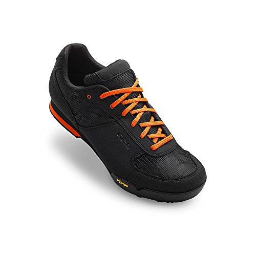 Giro Rumble Vr MTB Shoes Black/Glowing Red