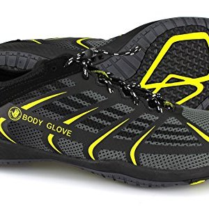 Body Glove Men's Dynamo Rapid Water Shoe, Black/Yellow