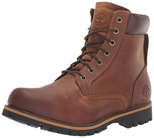 Timberland Men's Earthkeepers Rugged Boot, Medium brown full grain