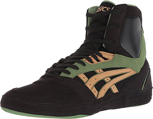 ASICS International Lyte Men's Wrestling Shoes, Black/Caravan