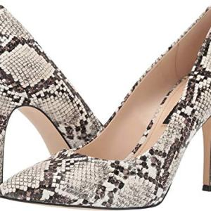 Nine West Women's Flax Pump Cream Multi