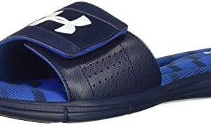 Under Armour Men's Ignite Stagger V Slide Sandal, Academy