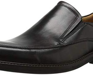 ECCO Men's Holton Apron Toe Slip On, Black