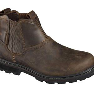 Skechers Men's Blaine Orsen Ankle Boot,Dark Brown