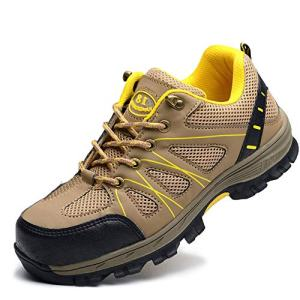 SITAILE Industrial Steel Toe Shoes for Women and Men Slip Resistant