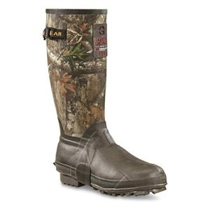 "Guide Gear Men's 15"" Insulated Rubber Boots, 400-grams, Realtree Edge"