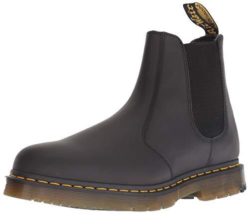 Dr. Martens Men's 2976 Snow Boot, Black, 9 Medium UK (10 US)
