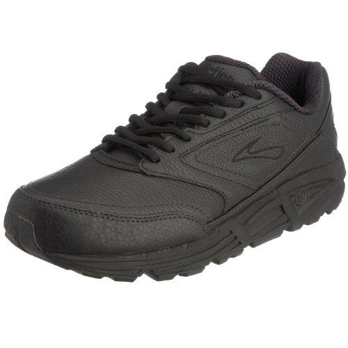 Brooks Men 's Addiction Walker Walking Zapato, color negro, talla 9 B