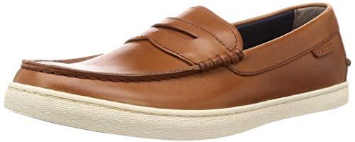 Cole Haan Men's Nantucket Loafer, British Tan Handstain