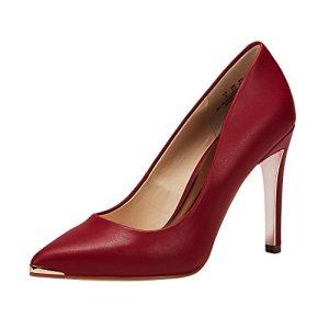 JENN ARDOR Women's Closed Pointed Toe Pumps Stiletto High Heels