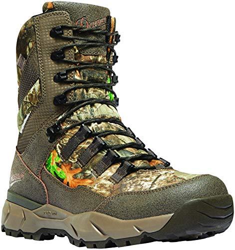 "Danner Men's Vital 8"" Waterproof Hunting Shoe, Realtree Edge"