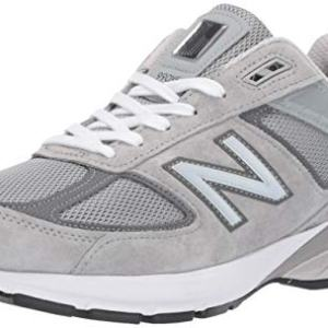 New Balance Men's 990v5 Sneaker, GREY/CASTLEROCK, 12 M US