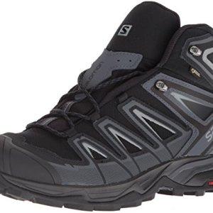 Salomon Men's X Ultra 3 Mid GTX Hiking Boot, Black, 11 M US