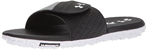 Under Armour Men's Fat Tire Slides Sandal, Black