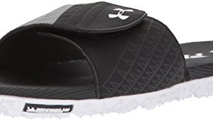Under Armour Men's Fat Tire Slides Sandal, Black