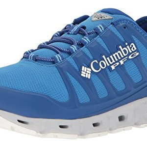 Columbia PFG Men's Megavent II PFG Sneaker, Splash, White