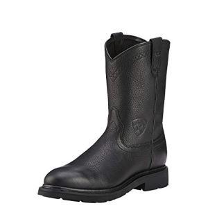 Ariat Men's Sierra Work Boot, Black, 10.5 M US