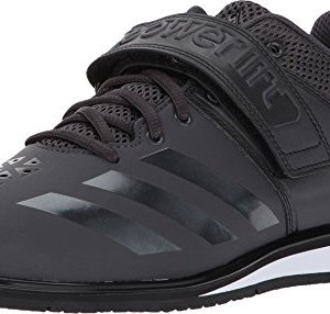 adidas Men's Powerlift.3.1 Cross-Trainer Shoes, Utility Black/White, ((9.5 M US)