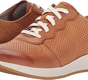 Dansko New Women's Christina Sneaker Saddle Burnished Nubuck