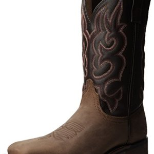 Laredo Men's Lodi Western Boot,Taupe/Chocolate