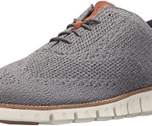 Cole Haan Men's Zerogrand Stitchlite Oxford, Ironstone/Magnet/Ivory