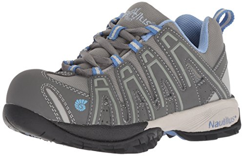 Nautilus Women's ESD Comp Safety Toe No Exposed Metal Athletic Shoe