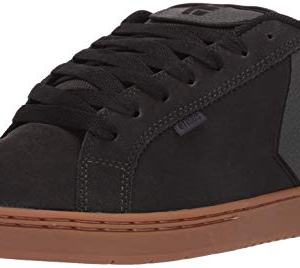 Etnies Men's Fader Skate Shoe, Charcoal, 9.5 Medium US
