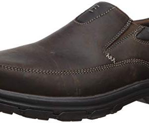 Skechers USA Men's Segment The Search Slip On Loafer, Dark Brown