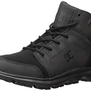 DC Men's Torstein Snow Boot, Black/Black/Black