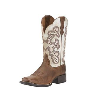 Ariat Women's Quickdraw, Sandstorm/Distressed White