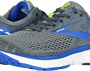 Brooks Men's Ghost 11 Grey/Blue/Silver