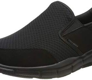 Skechers Sport Men's Equalizer Persistent Slip-On Sneaker, Black
