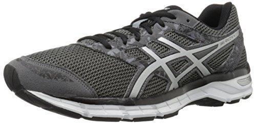 ASICS Men's Gel-Excite 4 Running Shoe, Carbon/Silver/Black, 11 M US
