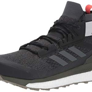 adidas outdoor Terrex Free Hiker Boot - Men's Black/Grey Six/Night